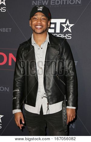 LOS ANGELES - JAN 23:  Jacob Latimore at the BET's