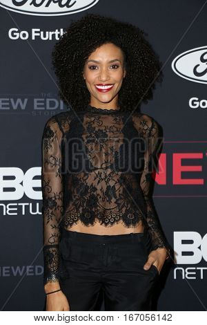 LOS ANGELES - JAN 23:  Annie Ironzeh at the BET's