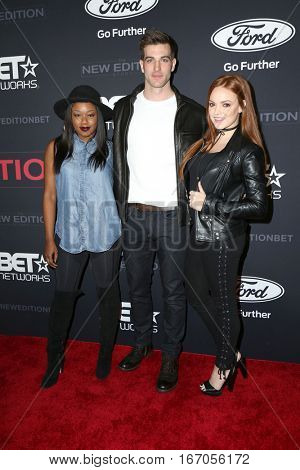 LOS ANGELES - JAN 23:  Jake Allyn, guests at the BET's