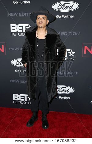 LOS ANGELES - JAN 23:  Evan Ross at the BET's