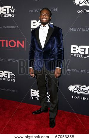 LOS ANGELES - JAN 23:  Woody McClain at the BET's