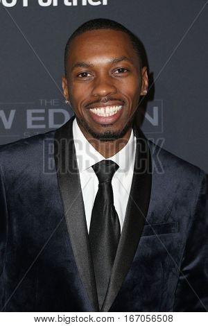 LOS ANGELES - JAN 23:  Melvin Jackson Jr at the BET's