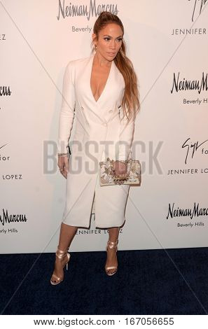 LOS ANGELES - JAN 26:  Jennifer Lopez at the Jennifer Lopez And Giuseppe Zanotti Celebrate Their New Shoe Collaboration at Neiman Marcus on January 26, 2017 in Beverly Hills, CA
