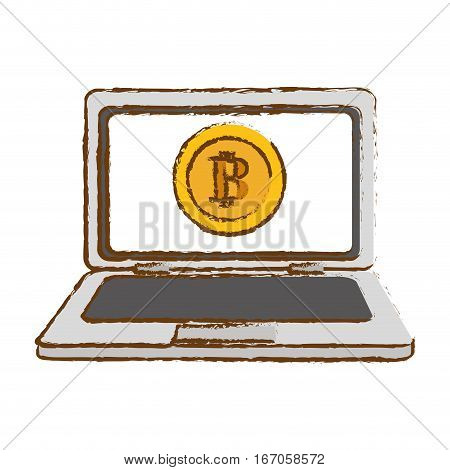 bitcoin gold icon, money symbol online, computer icon