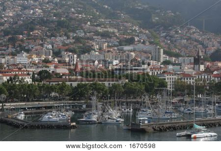Madeira - Town And Marina