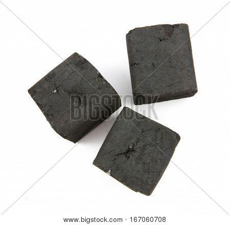 three box charcoal on white background .