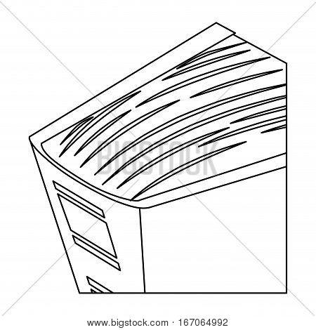 Figure large encyclopedia icon image, vector illustration design