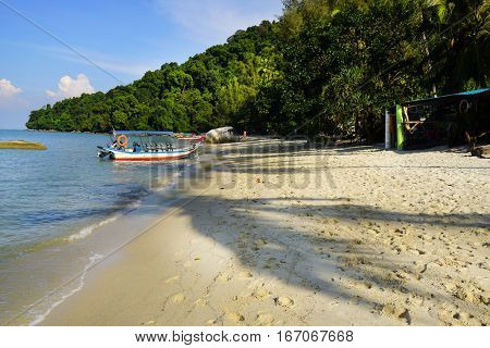 Monkey Beach on Penang Island, Malaysia, Asia