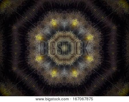 Extruded Octagon Mandala
