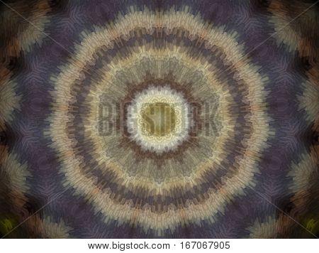 Extruded Circle Mandala