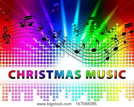 Christmas Music Shows Xmas Song Sound Tracks