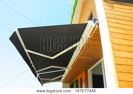 Sun Shade Curtains - Sun Protection. Sheer Curtains Solar Shades Are Popular Window. Shades Blinds Curtains for Energy Efficiency. Protection Against Sun and Heat.