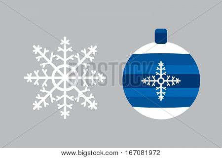 Snowflake vector illustration and season nature winter sign symbol. Frozen ice xmas element and frost silhouette. Winter traditional beautiful star ornament.