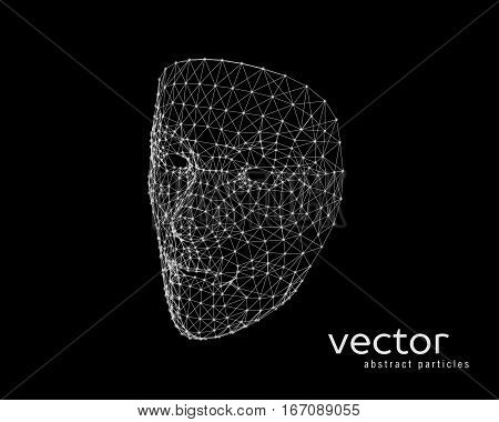 Vector Illustration Of Human Face