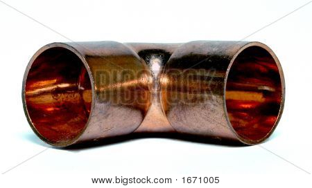 Copper Elbow 2