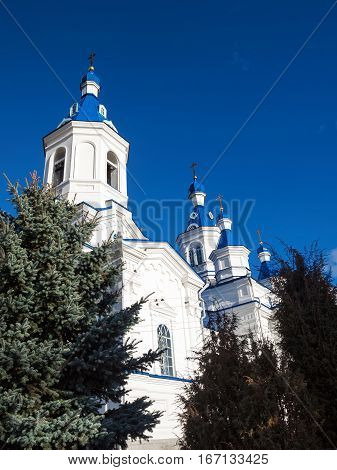 Stone Temple of the Holy Great Martyr Catherine. Russia