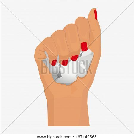 Woman Hand Holding