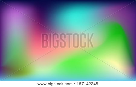 Spectral colorful abstract smooth background vector eps 10