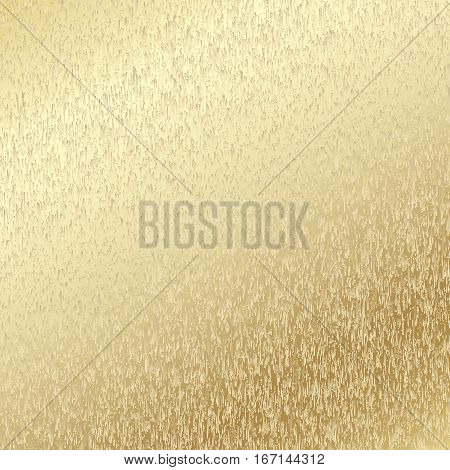 Metallic speckled background. Abstract brown gold background. Vector illustration