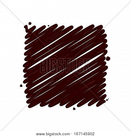 Abstract chocolate splash vector illustration.Tasty trendy picture. Banner love hot chocolate dessert. Realistic hot chocolate drop pattern.