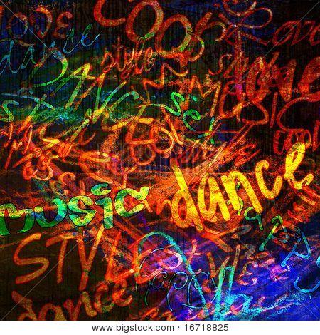 art urban graffiti raster colorful background. To see similar, please VISIT MY PORTFOLIO.