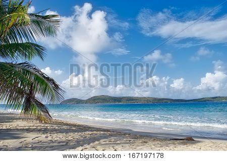 Tranquil beach in the Caribbean Culebra Puerto Rico