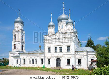 Old Church of the Holy Trinity in Trinity Sloboda. Pereslavl-Zalessky. Golden ring of Russia