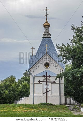 Russia Starocherkassk Collegiate Chapel tract . The memorial chapel in honor of the Don Cossacks who died in all wars .