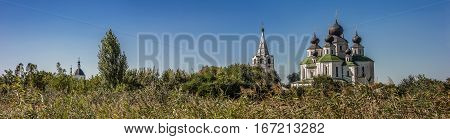 Russia Starocherkassk the first capital of the Don Cossacks . Branch Resurrection Cathedral built in 1706 with the participation of Tsar Peter the Great.