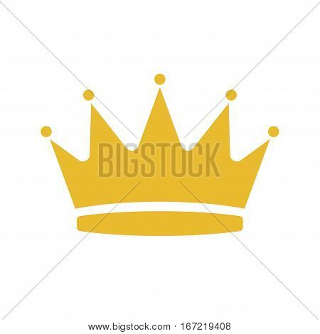 Cartoon of crown vector icon for web design. Stock illustration