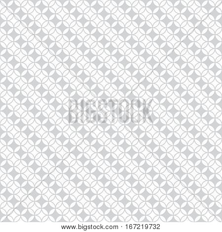Seamless pattern. Modern stylish texture with intersecting circles. Regularly repeating geometrical tiles with rhombuses diamonds flowers. Diagonal strips with rhombuses.