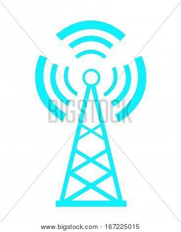 Transmitter icon vector illustration on white background