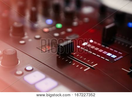 Professional Hip Hop Scratch Dj Sound Mixer Controller