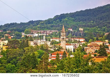 Town Of Pazin Landmarks View