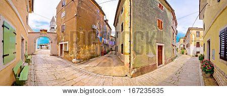 Town Of Visnjan Old Stone Street