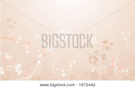 Floral background. vecto rillustration for using in different ways poster