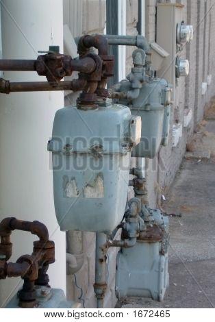 Old Water Meters