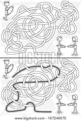 Hula Hoop Maze
