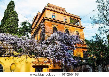Hdr Villa Dora Pamphilj