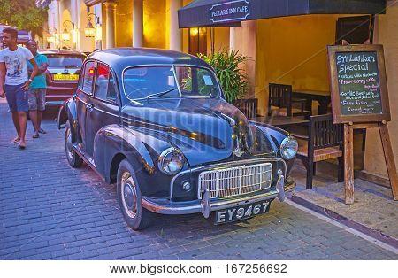 The Old Black Car