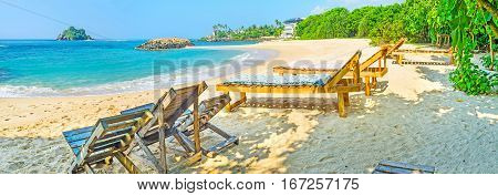 Panorama With Beach Chairs