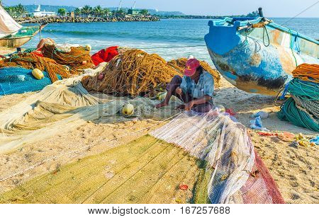 The Fisherman With Net