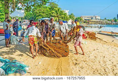 The Fishermen At Work