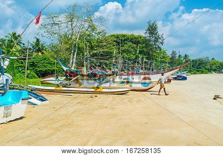 The Fishing Boats At The Beach