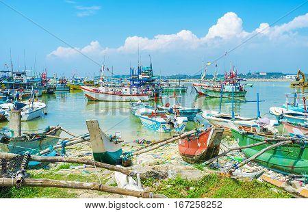 The Port Of Mirissa