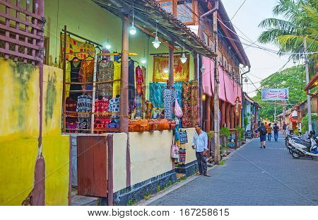 The Shopping In Galle