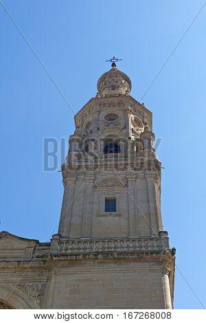 Santa Maria In Logrono La Rioja. Spain.