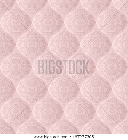 decorative background, seamless pattern for wallpaper - vector illustration