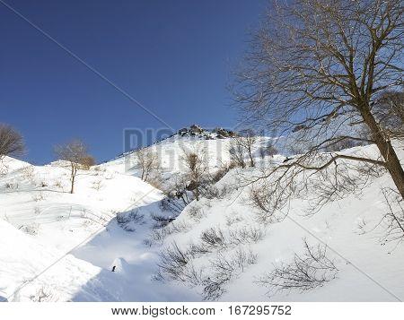 Cimadera Cima Fojorina Switzerland: mountain of Lombardy on the border between Italy and Switzerland.