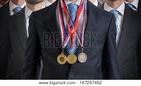 Extraordinary Successful Employee Was Awarded For His Excellent